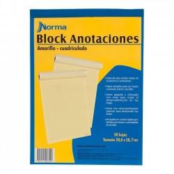 Block Cta Canario Cuadros Norma