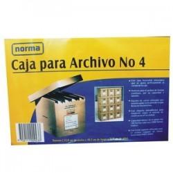 Caja P/Archivo No.4 Norma