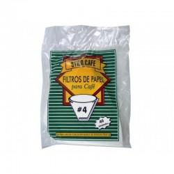 Filtro Cafe No 4 x 40 Und