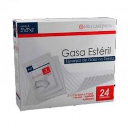 Gasa Aseptica 24 Sobres De 7.5 X 7.5 Cm