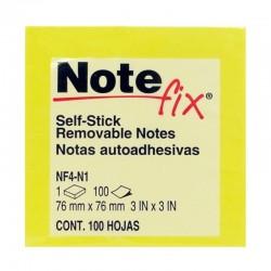 Notas Adhesivas 75X75 Amarilla 80H