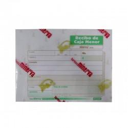 Formato Recibo Caja Menor x 200