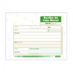 Formato Recibo de Caja Menor 20-02 X200