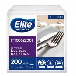 Servilleta Elite lujo dh 33x33 pqt x 200