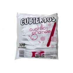 Cuchillo Grande paqx100 Blanco